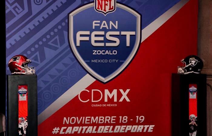 NFL Fan Fest 2017 en el Zócalo