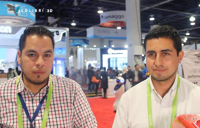 Francisco González (izq) y Federico Santos (der) de Colibrí 3D
