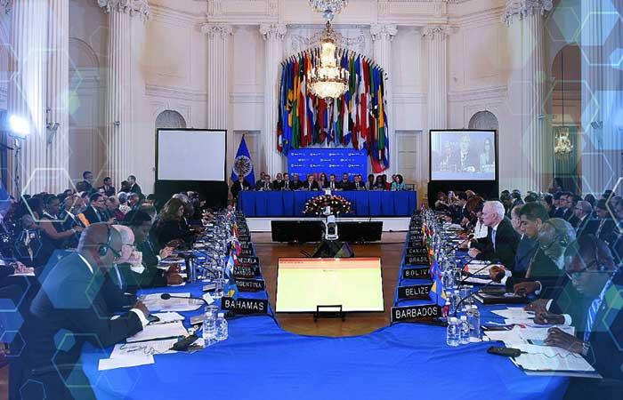 OEA inicia sispención de Venezuela