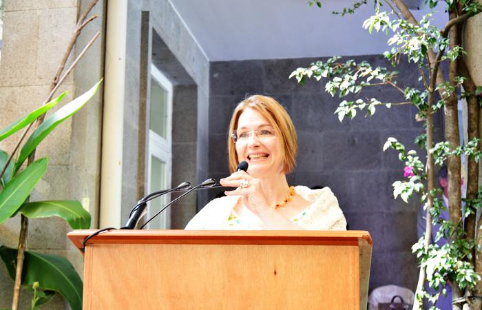 Embajadora Annika Thunborg
