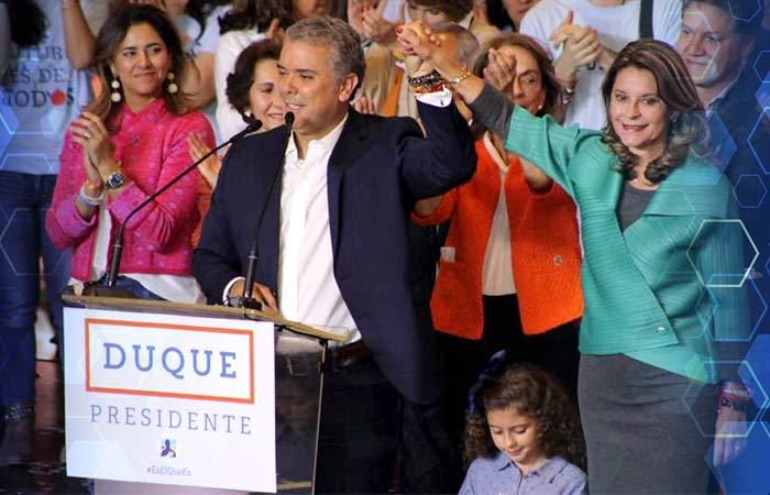 Iván Duque - Presidente electo Colombia