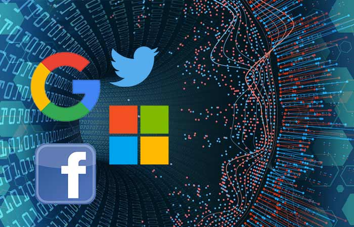 Google, Microsoft y Facebook
