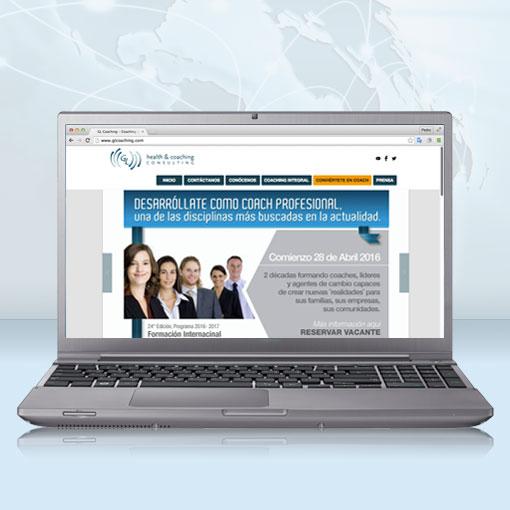 GL Health & Coaching Consulting estrena sitio web