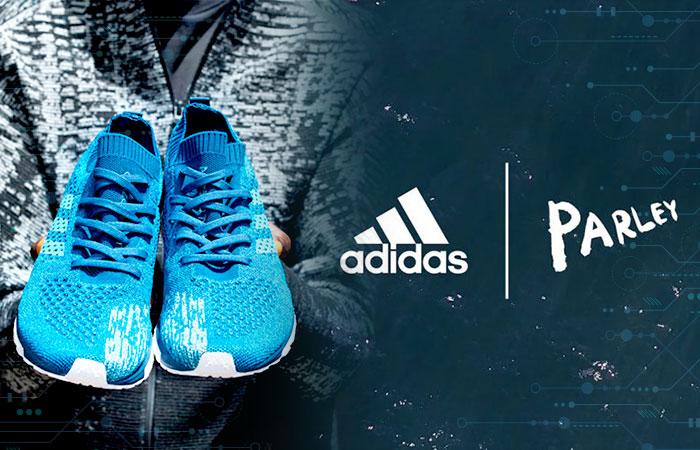 Adidas lanza tenis reciclables hechas 100% con plástico