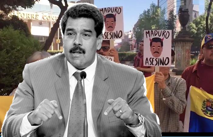 Maduro habló de los ataques que recibió en México