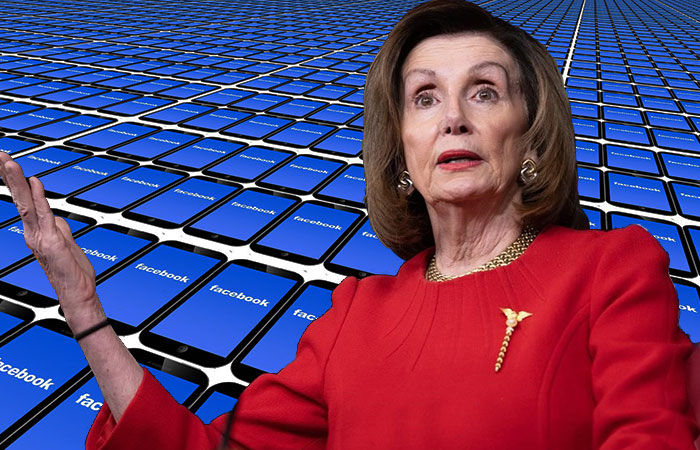 Nancy Pelosi acusa a Facebook de irresponsable y busca regulación