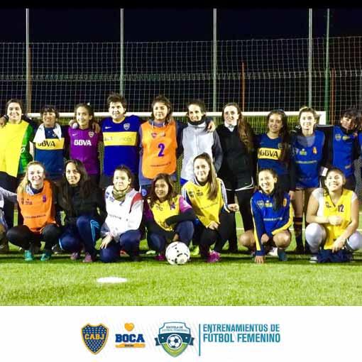 Escuela deportiva para niñas y mujeres