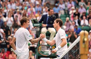 Primer día del torneo de Wimbledon