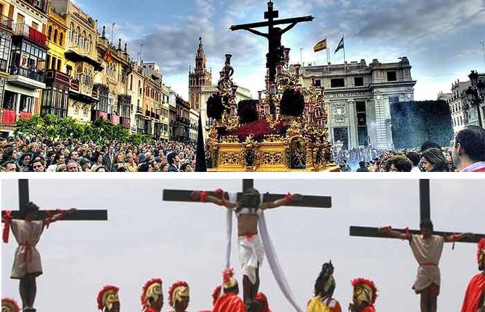 Semana Santa alrededor del mundo